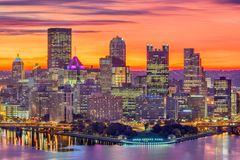 匹兹堡,宾夕法尼亚,美国 库存图片