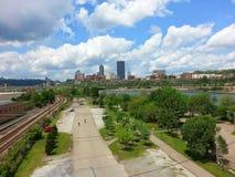匹兹堡 免版税库存照片