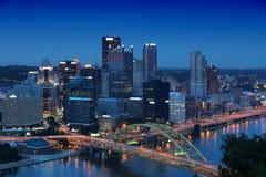 匹兹堡 免版税图库摄影
