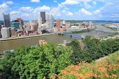 匹兹堡PA 免版税库存图片