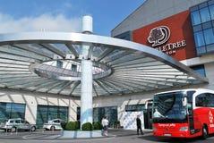 匹配波兰队橄榄球的旅行 免版税库存图片