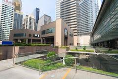 区交易广场在香港 免版税库存照片