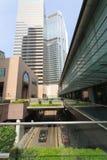 区交易广场在香港 免版税图库摄影