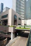 区交易广场在香港 库存图片