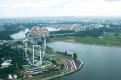 区传单住宅新加坡 库存图片