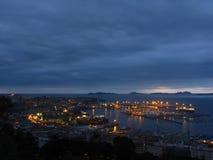 区加利西亚端口区域西班牙比戈 图库摄影