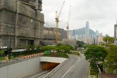 区大厦企业行业 免版税图库摄影