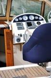 区小船控制 库存图片