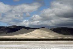 区山重新创建沙子 免版税库存照片