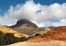 区峡谷保护国家红色岩石 库存照片