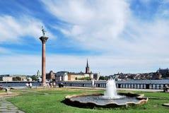 区市政厅斯德哥尔摩瑞典 免版税库存图片