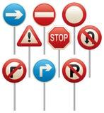 区查出步行者禁止有限的路标 库存图片