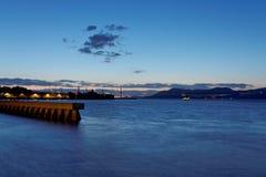 区桥梁弗朗西斯科门金黄圣 免版税图库摄影