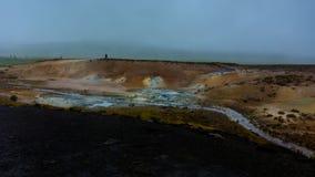 区著名马冰岛冰岛landmannalaugar山流纹岩晃动火山 免版税库存照片