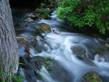 区虚张声势小河自然状态威斯康辛 免版税库存照片