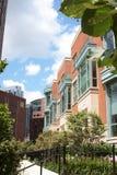 区街市市内住宅 库存照片