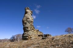 区arshihaty森林风景石头 免版税库存照片