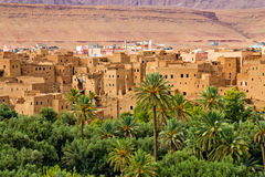 区kasbahs摩洛哥一千 免版税库存图片