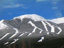 区nakiska滑雪 免版税库存照片