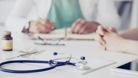 医学和医疗保健概念 免版税库存图片