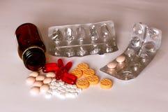 医学,药片,维生素 免版税库存照片