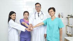 医生和护士madical队 图库摄影