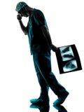 医生外科医生放射学家 库存图片