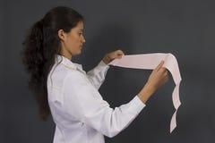 医生女性年轻人 免版税库存图片
