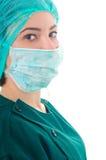 医生女性纵向年轻人 图库摄影