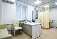 医生妇产科医师` s办公室 免版税库存照片