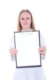 医生妇女年轻人 免版税图库摄影