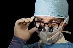 医生玻璃 免版税图库摄影