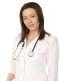 医生评估健康 免版税库存照片