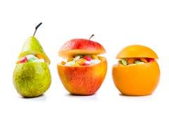 医疗保健概念-充分果子矿石维生素 库存图片