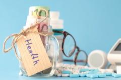 医疗保健资金 免版税库存照片