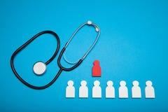 医疗保险金,援助关心 医疗保健费用 免版税库存照片