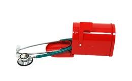 医疗信息的邮件 免版税库存图片