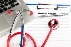 医疗信息 免版税库存图片