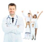 医疗医生的人 免版税库存照片