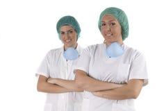 医疗妇女工作 免版税库存图片