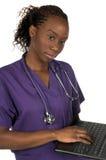 医疗护士 免版税库存图片
