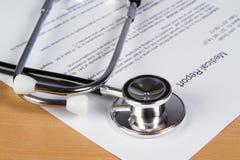 医疗报告 库存图片