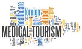医疗旅游业 向量例证