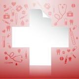 医疗概念的保险 库存照片