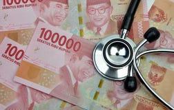 医疗的印度尼西亚和健康保险 库存照片