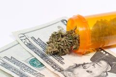 医疗的大麻 库存照片