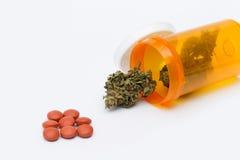 医疗的大麻 免版税库存照片