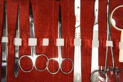医疗的工具箱 库存照片