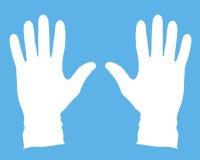 医疗的手套 免版税库存照片