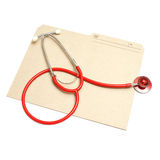 医疗的文件夹 免版税图库摄影